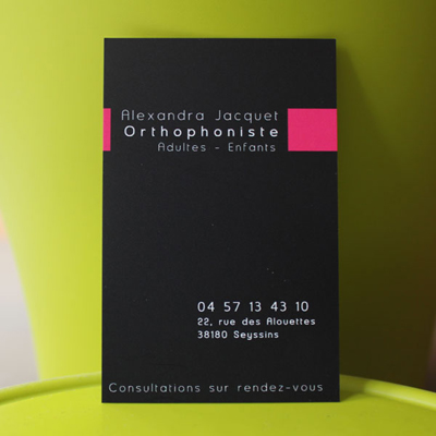 Orthophoniste - Alexandra Jacquet